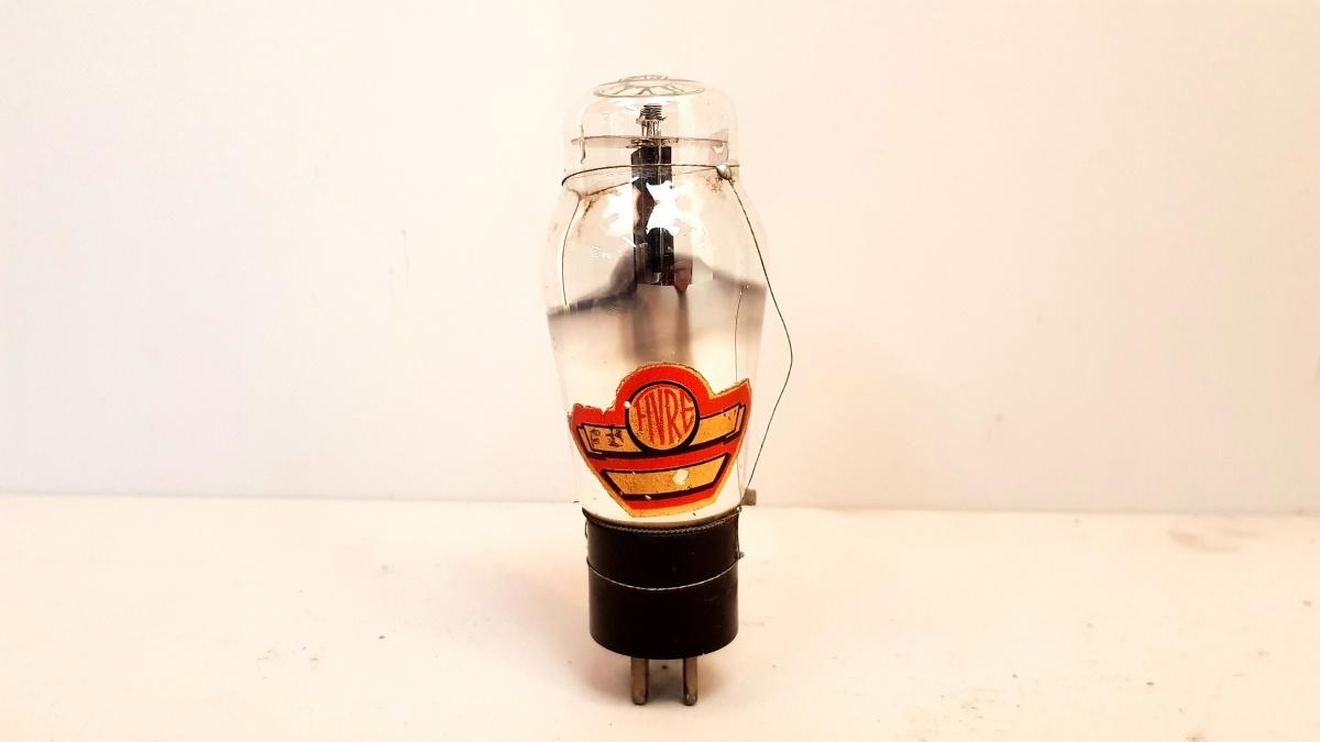 1 valvola  tubes nos   Fivre Rossa 2A3 monoplacca 026