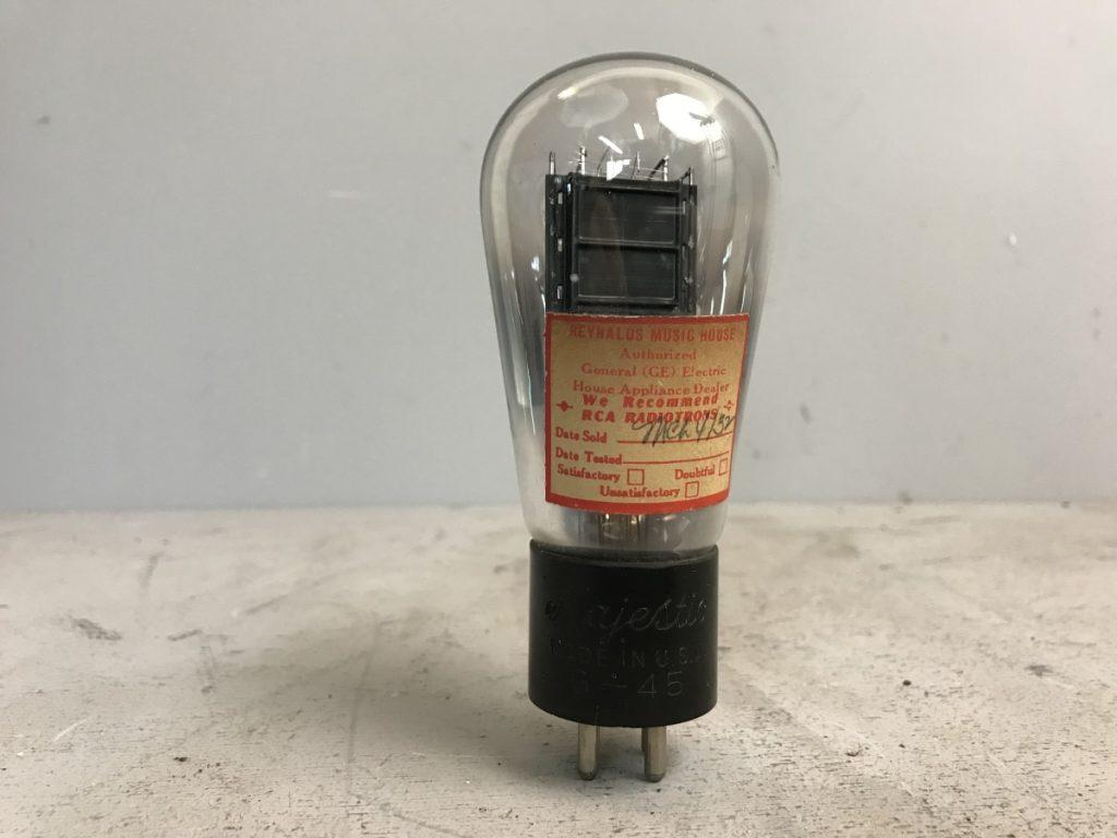 1 valvola tubes NOS MAJESTC G-45 096