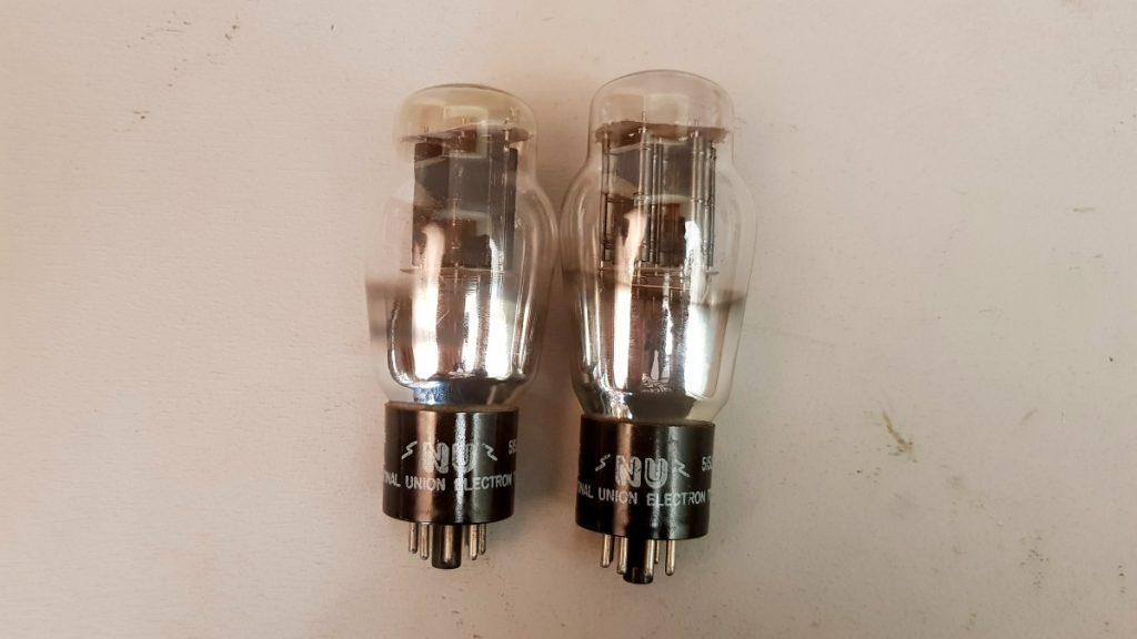 2 valvole tubes  pair  N.U. 6B4G  047-048