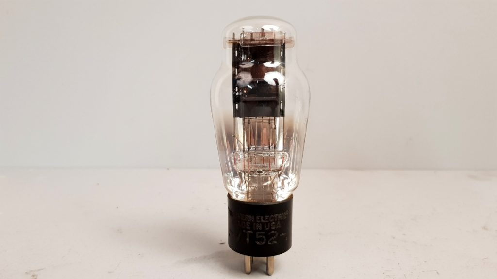 1 valvola  TUBES  VT52 WESTERN ELECTRIC  054
