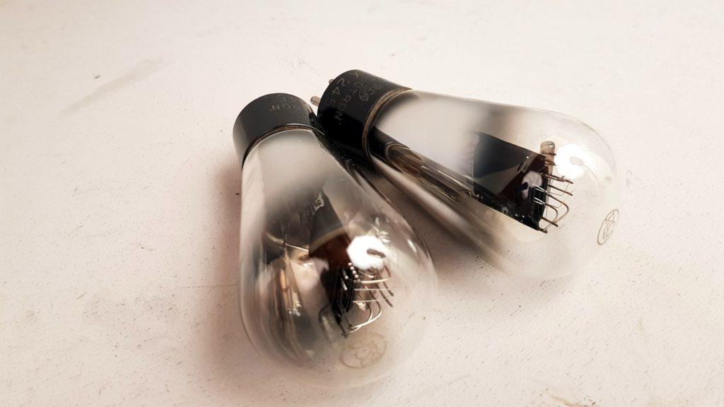 2 valvole tubes pair RCA ux 245 066-067