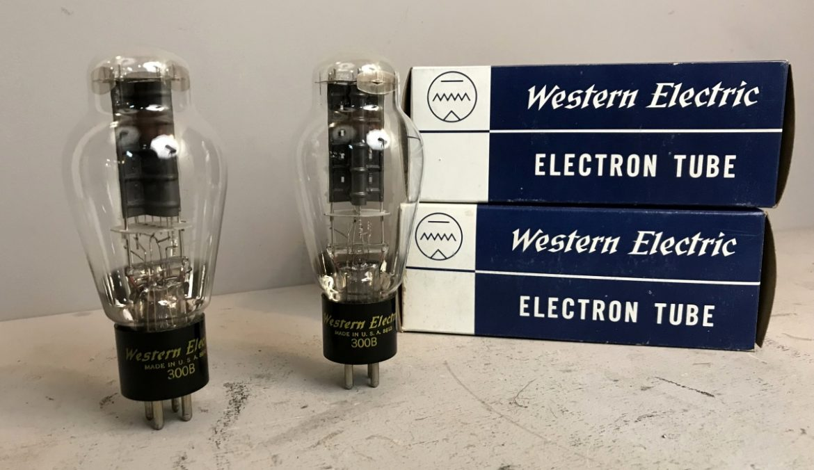 PAIR NOS 300B WESTERN ELECTRIC 090-091